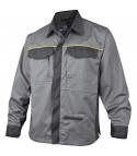 Camicia da lavoro Deltaplus Mach2 grigio